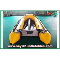 Buy cheap 0.8mm PVC Inflatable Boats Aluminium Bottom 3.3m Long For 5 Peopel from wholesalers