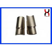 Buy cheap High Grade Arc Shaped Magnets , Industrial Irregular Arc Motor NdFeB Magnet from wholesalers