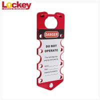 Buy cheap Writable Labeled Loto Aluminum Master Lock Lockout Hasp Labels Can Be Write from wholesalers