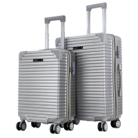 Wholesale Traveling Bags Built-in wheels Newly designed ABS Luggage Set from china suppliers