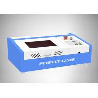 China 40W Small CO2 Laser Engraving Machine Working Area 300*200mm For Rubber Stamp on sale