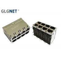 Buy cheap Multiple Port 10G RJ45 2x4 Through Hole 10G Base - T Integrated Transformer product