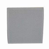 Wholesale Perforated PVC Gypsum Ceiling Tiles/Acoustic Panel/False Ceiling/Ceiling Tile/Ceiling from china suppliers
