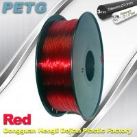 Wholesale Red 1.75mm / 3.0mm  PETG Fliament  3D Printing Filament Materials from china suppliers