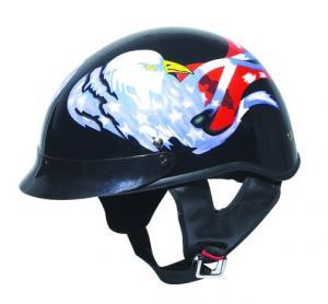 China Black Hot Sale Eagle motorcycle helmets on sale