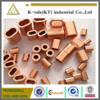 COPPER WIRE ROPE FERRULES Manufactures