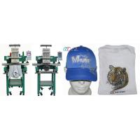 Quality Single head 12 Needles Computerized Cap / T-shirt Embroidery Machine for sale