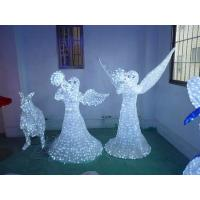 Buy cheap lighted angel outdoor christmas decorations from wholesalers