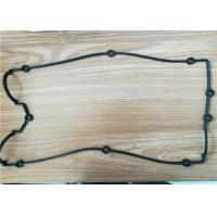 Buy cheap Heat Resistant Custom Rubber Gaskets For Oil And Air Cooler , Exhaust Rubber Flange Gasket from wholesalers