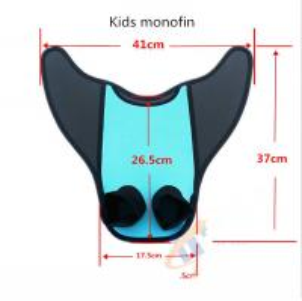 Buy cheap Adult / Kids Mermaid Swim Fin Super Comfortable PE Insert Neoprene Cover from wholesalers
