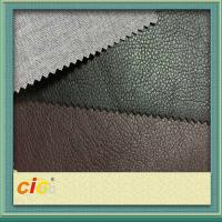 Buy cheap Environmentally Friendly Leather Cloth PU Synthetic Leather For Shoes / Auto Upholstery product