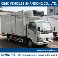 Buy cheap JG5044XLC4 4*2 1.4Ton ISUZU Refrigerated Truck Refrigerated van and truck Reefer container from wholesalers