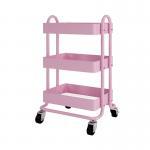 Buy cheap Bathroom Organizer Steel Shelf Rack Utility Rolling Trolley Cart from wholesalers