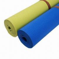 Buy cheap Soft Touch Yoga Mat with 4 to 7mm Thickness and SGS/PAHS Marks, Made of PVC Material from wholesalers