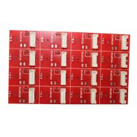 Buy cheap HASL Surface Finish Auto Pcb , FR4 Pcb Board 1.6mm Thickness Red Solder Mask from wholesalers