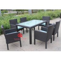 Outdoor rattan furniture round table and chair,outdoor garden dining table and chair,Leisure bistro rattan dining set Manufactures