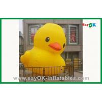 Buy cheap Big Inflatable Yellow Duck Inflatable Cartoon Model Water Pool Toys from wholesalers