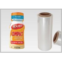 Buy cheap Bottle Labels Poly Shrink Film / PLA Biodegradable Shrink Wrap Film from wholesalers