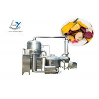 Wholesale High Efficiency Vacuum Fried Chips MachineEnergy Saving For Vegetable / Fruit Chips from china suppliers