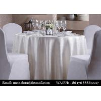 Buy cheap Luxury Hotel Linen Dinner Napkins Table Cloth For Wedding Restaurant from wholesalers