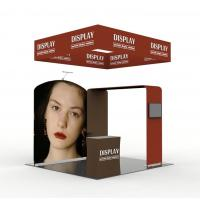 Buy cheap Aluminum Tube Pop Up Exhibition Display Tension Fabric Vivid Graphic Image from wholesalers