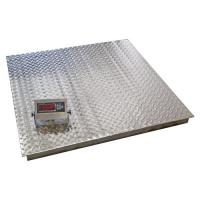 Buy cheap Stainless Washdown Industrial Floor Weighing Scales 2 Ton Weighing Machine from wholesalers