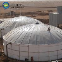 China Glass - Fused - To - Steel Industrial Water Tanks Capacity From 20 M³ To 20000 M³ on sale