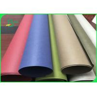 Buy cheap Fiber Pulp Tear Resistance Red & Blue Washable Kraft Paper Fabric For Wallets from wholesalers