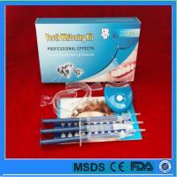 Buy cheap Professional 35% Carbamide peroxide teeth whitening gel kit for home use with led light from wholesalers