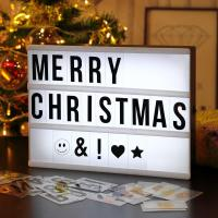 Buy cheap Festival Greetings Customisable Led Message Box Square Acrylic Light Box from wholesalers