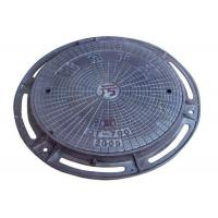 Buy cheap OEM Ductile Iron Round Inspection Cover Cast Iron Manhole Cover With Frame from wholesalers