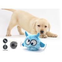 Buy cheap Plush Cover Battery Operated Dog Toy Auto Bounce / Squeak With 20 - 25 cm Length from wholesalers