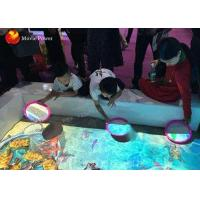 Buy cheap 3D Ar Interactive Projection Kids Floor Sand Pond Game Machine With OLED Display from wholesalers