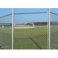 Buy cheap 60x60mm Metal Galvanised Chain Link Fencing And Whole Set Accessories from wholesalers