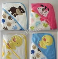 China cotton printing baby towel blanket on sale