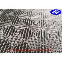 Buy cheap Mosaic Pattern 3K Jacquard Carbon Fiber Fabric With Abrasion Resistance product