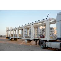 Buy cheap TITAN Car auto hauler Enclosed Vehicle Transport  Carrier Truck Trailer from wholesalers