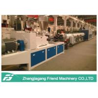 Buy cheap 110mm Diameter Plastic Pipe Machine High Output CPVC Hard Cable Protection from wholesalers
