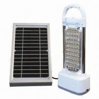 Buy cheap Multifunctional Portable Solar Lamp/Lighting with 3W Power from wholesalers