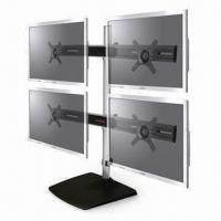 Buy cheap 4 Screens Monitor/Laptop Desktop Mount with Metal Base, for 10 to 24 Inches from wholesalers