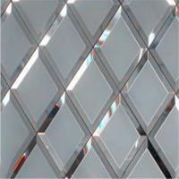 Buy cheap Silver mirror Mirror Wall Decor glass can prettify the room from wholesalers