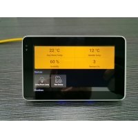 Quality Time Attendance Usage Safe Wall Mount Android POE NFC Tablet PC With Rj45 Port No Physical Button for sale