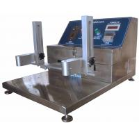 Buy cheap High Erosion Resistance Abrasion Testing Machine with 3 Testing Grips from wholesalers