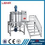 Buy cheap 1000L, 2000L 3000L, 5000L Guangzhou China Cosmetics Heating Mixer Machine Hand Sanitizer Making machine mixing tank from wholesalers
