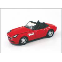 China 1 / 32 Diecast Toy Red Custom Scale Model Cars Racing-car As Home Decoratio on sale