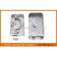 Buy cheap Indoor Drop Cable Fiber Optic Termination Box Rack Mount 2 Cores ISO SGS CE ROHS from wholesalers