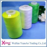Buy cheap Single / Double Ring Spun Sewing Thread 100% Polyester Thread with Custom Color from wholesalers