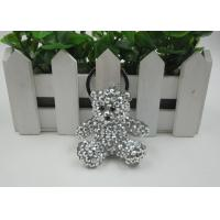 Buy cheap Shining Rhinestone Resin Bear Beautiful Key Chains Light Convenience For Kids from wholesalers