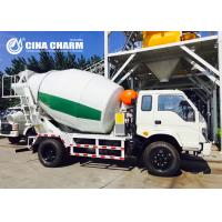 Buy cheap Fast Climbing 4m3 Concrete Mixer Truck , Concrete Mixing Transport Trucks from wholesalers