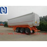 Buy cheap Empty Weight 7T Petrol Oil Tanker Trailer With Channel Steel Side Beam from wholesalers